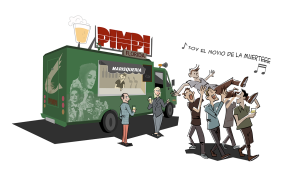 Pimpi food truck